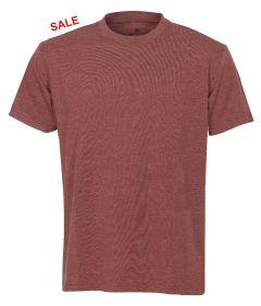°Hr. T-Shirt 7010 rot meliert