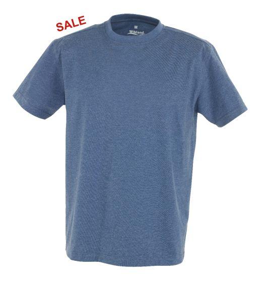 °Hr. T-Shirt 7010 blau meliert