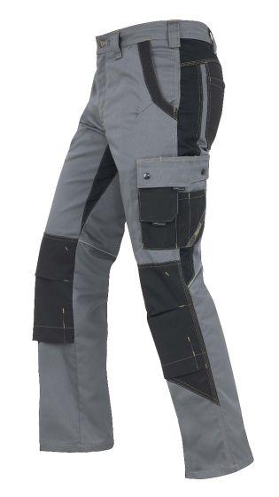 Hr. Arbeitshose 1824 grau/schwarz