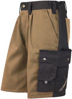 Hr. Shorts 1168 khaki/schwarz