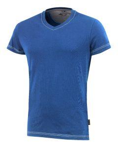 Da. T-Shirt 3780 blau