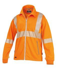 °Sweatjacke ISO 20471 1339 orange