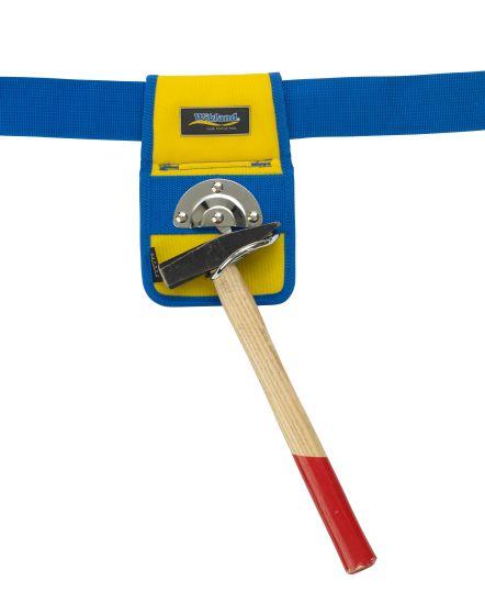 Hammerhalter 2670 gelb/blau