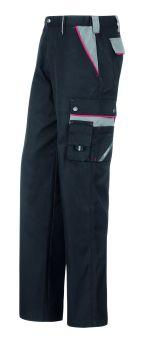 Hr. Arbeitshose 1404 schwarz/grau