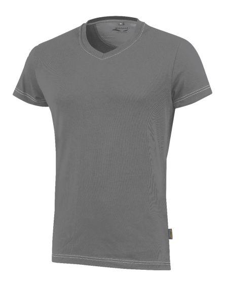 Da. T-Shirt 3780 grau