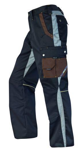 Hr. Arbeitshose 1801 schwarz/grau