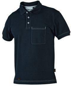 Hr. Polo-Shirt 1485 schwarz