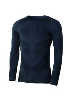 °Hr. Rundhals Shirt 4300 schwarzgrau