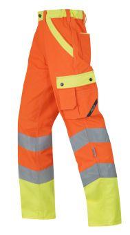 °Hr.Arbeitshose ISO20471 1232 oran./gelb