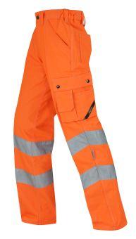 Hr. Arbeitshose ISO20471 1233 orange