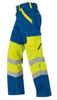 Hr. Arbeitshose ISO20471 1231 blau/gelb