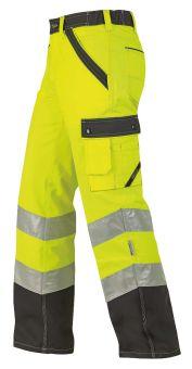 Hr.Arbeitshose 1232 ISO20471 gelb/anth.
