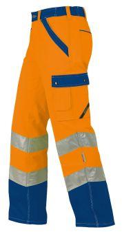 Hr.Arbeitshose ISO20471 1232 oran./blau