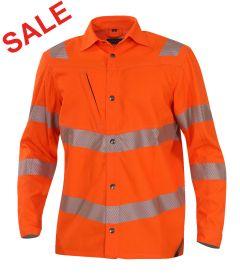 °°Hr.Hemdjacke ISO20471 1269 orange