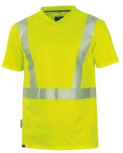 Hr. T-Shirt  ISO 20471 1309 gelb