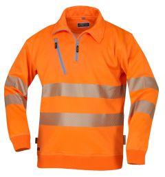 Hr. Sweatshirt ISO20471 1321 orange