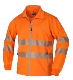 Sweatjacke ISO20471 1331 orange