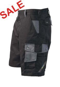 °°Hr. Shorts 1458 schwarz/grau