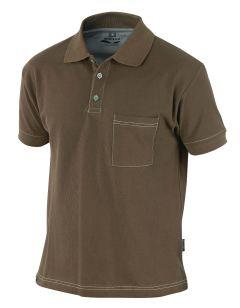 Hr. Polo-Shirt 1485 braun