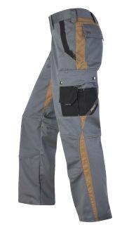 Hr. Arbeitshose 1801 grau/khaki