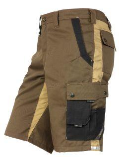 Hr. Shorts 1803 braun/khaki