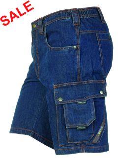 °Hr. Shorts 1815 dunkelblau gewaschen