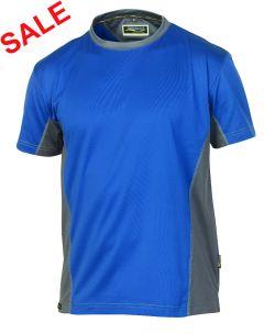 °Hr. T-Shirt 1821 blau/grau
