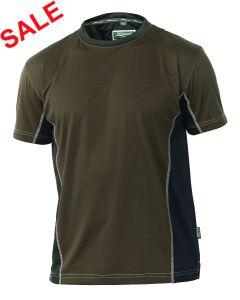 °Hr. T-Shirt 1821 braun/schwarz