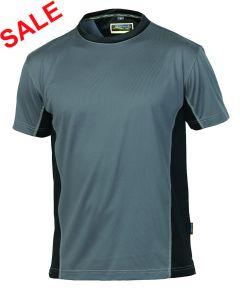 °Hr. T-Shirt 1821 grau/schwarz