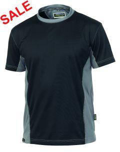 °Hr. T-Shirt 1821 schwarz/grau