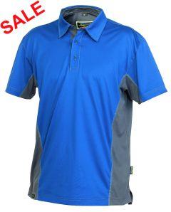 °Hr. Polo-Shirt 1822 blau/grau