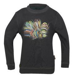 Kinder Sweatshirt 4888 schwarz