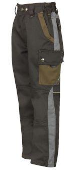 Kinderhose 4801 schwarz/grau
