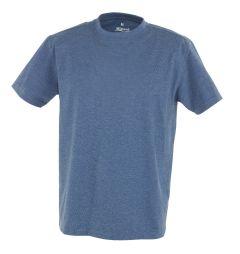 Hr. T-Shirt 7010 blau meliert