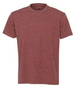 Hr. T-Shirt 7010 rot meliert