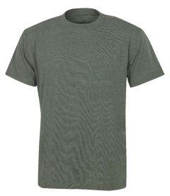 Hr. T-Shirt 7010 oliv meliert