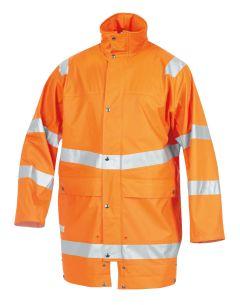 Regenjacke ISO20471/EN343 9362 orange