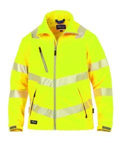 Hr. Softshell ISO20471 9632 gelb