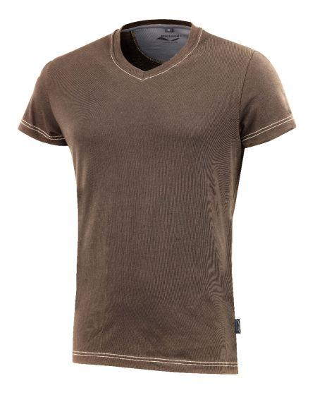 Da. T-Shirt 3780 braun