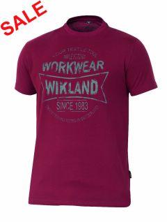 °Hr. T-Shirt 7580 bordeaux
